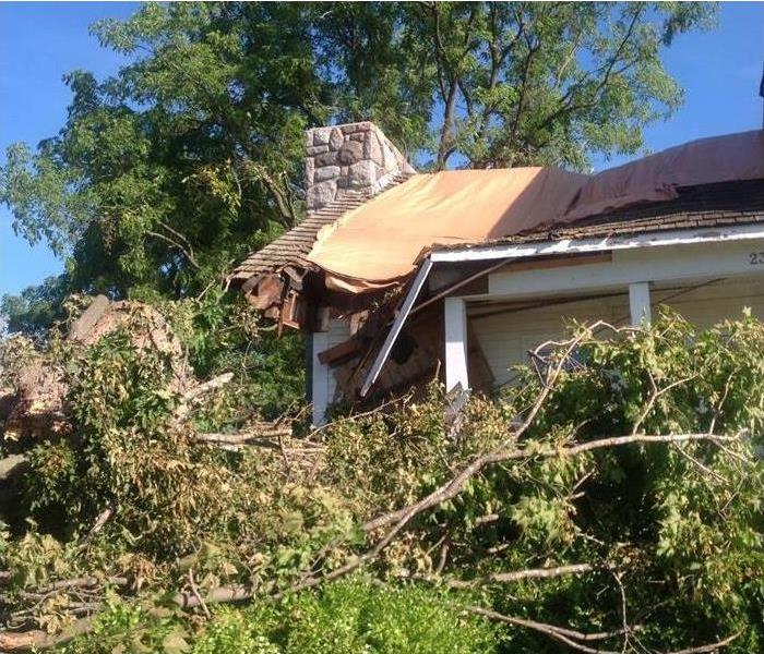 Storm Damage Tornadoes Rip Through Michigan